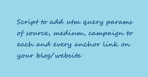 How to add utm_params to links